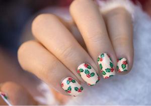 Idées nail art Noël