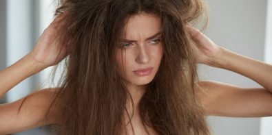 masque maison pour cheveux secs