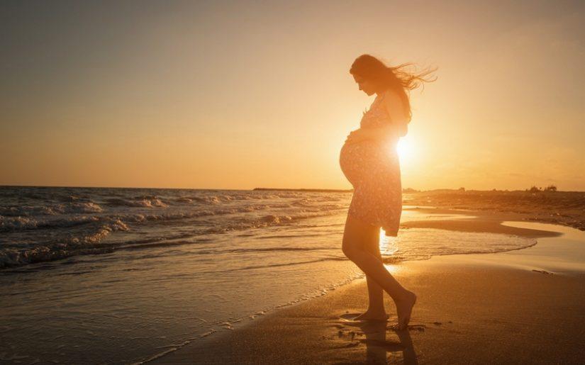 routine beauté pendant la grossesse