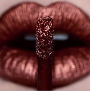 rouges à lèvres métallisés