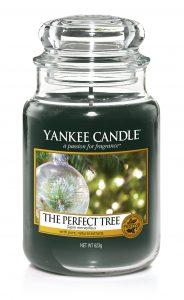 idées cadeaux pour Noël 2017 : bougies ultra parfumées de Yankee Candle Perfect Christmas