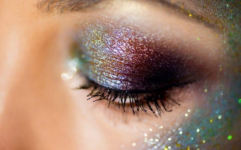 maquillage glitter space jam