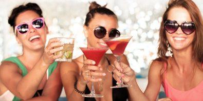 Alcool conséquences sur la peau