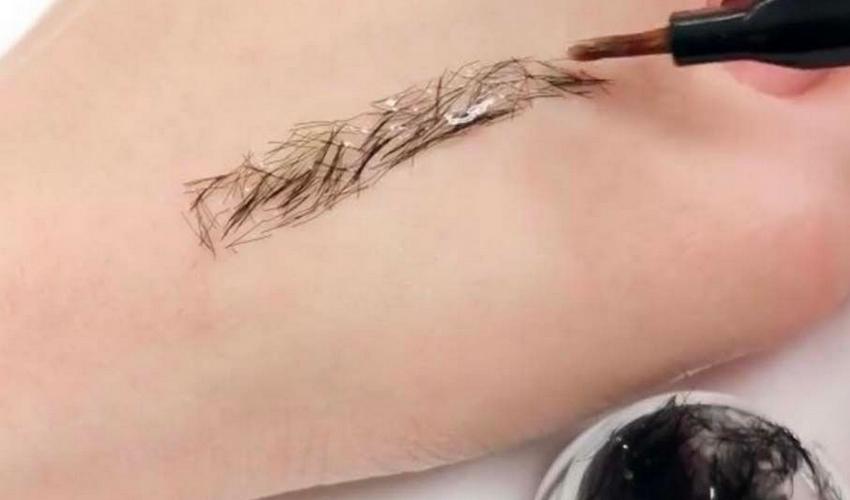 extensions de sourcils
