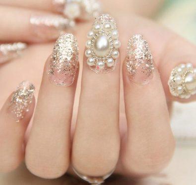 le pearl nail art