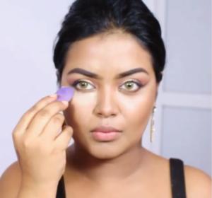 Beautyhacks : contouring avec une gomme