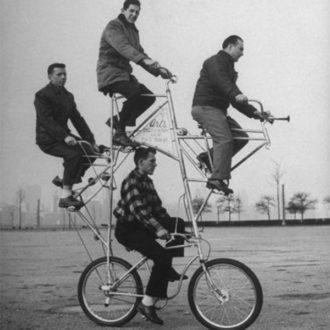 Faire du vélo pour gagner quelques centimètres