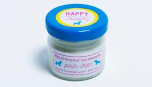 produits de beauté pour animaux : Flair In The City baume pour coussinets Happy Cream