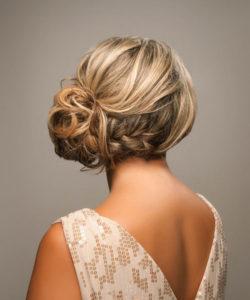 inspirations coiffures pour mariage : Chignon flouté