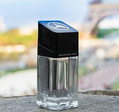 mercedes-benz select un parfum d'homme