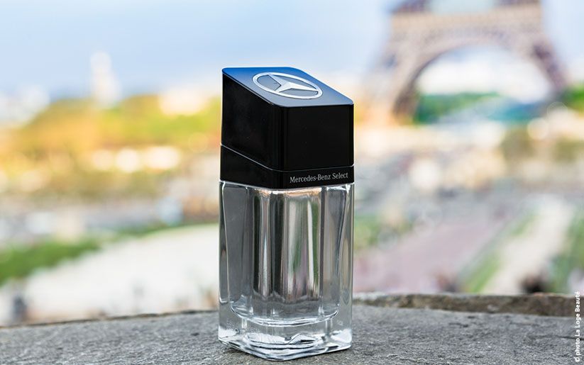 mercedes-benz select un parfum d'homme