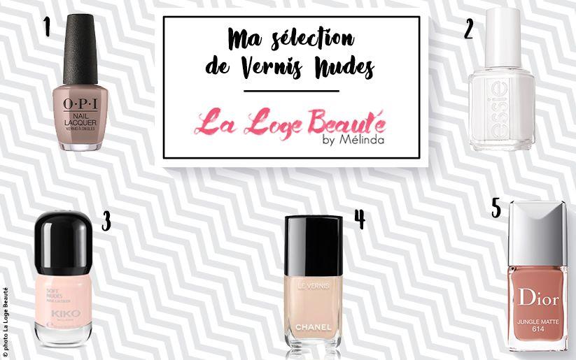 Vernis Nudes: La selection de La Loge Beauté