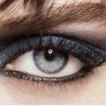 Ombre à paupière longue tenue bleue de CHANEL