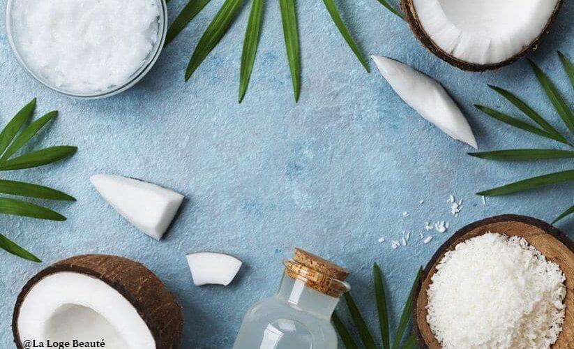 bienfaits de l'huile de coco pour les cheveux, les dents et la peau