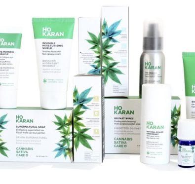 Ho Karan, une marque de cosmétiques au cannabis