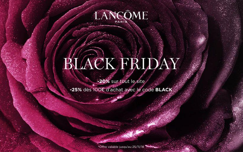 Black Friday Lancôme : les indispensables Beauté à prix réduit