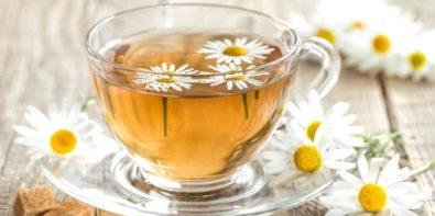 bienfaits de la camomille, infusion de thé