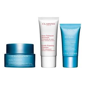 Coffret pour peaux déshydratées, hydratation et soin du visage, CLARINS
