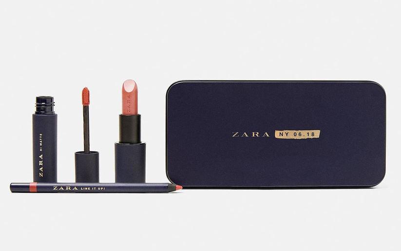 Zoom sur la première collection de maquillage Zara !