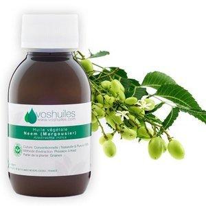 Huile végétale de neem biologique, VOS HUILES