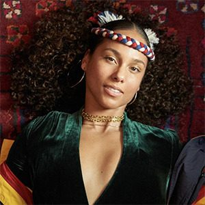 Alicia Keys star sans maquillage