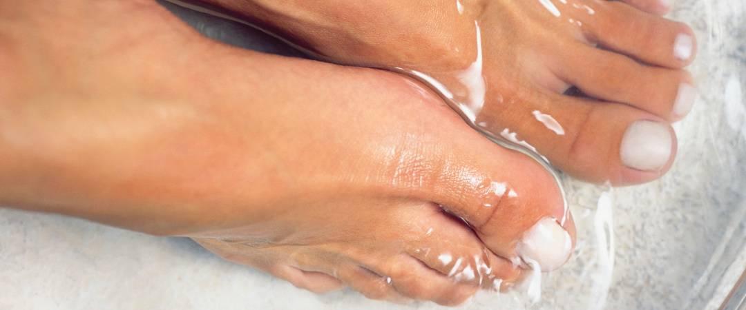 bain de pied, pour prendre soin de nos petons