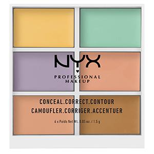 NYX Palette de correcteur de teint