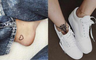 tatouage cheville, vrai atout beauté