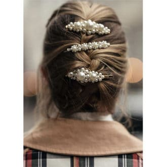 Les barrettes perles