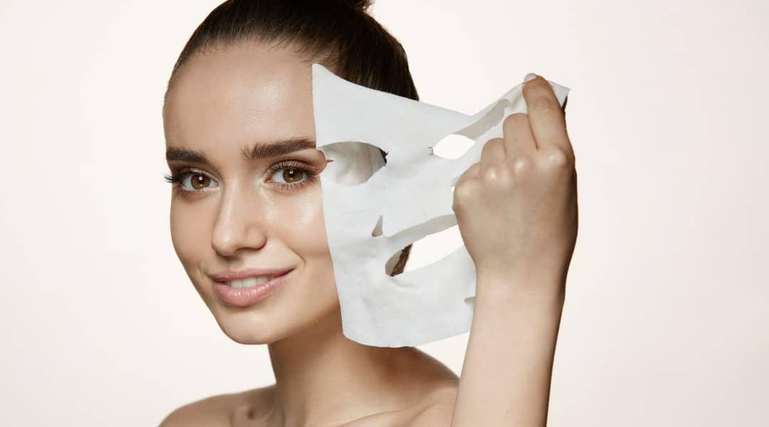 masque tissu :le nouveau soin dédié au visage