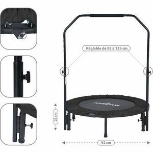 Mini Trampoline Fitness Jump4fun, MANO MANO