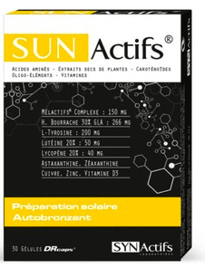 Gélules solaires SUNACTIFS