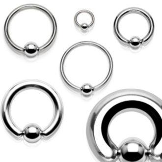 Piercing nombril anneau acier, NEO PIERCING