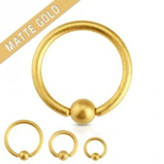 Piercing nombril anneau gold, NEO PIERCING