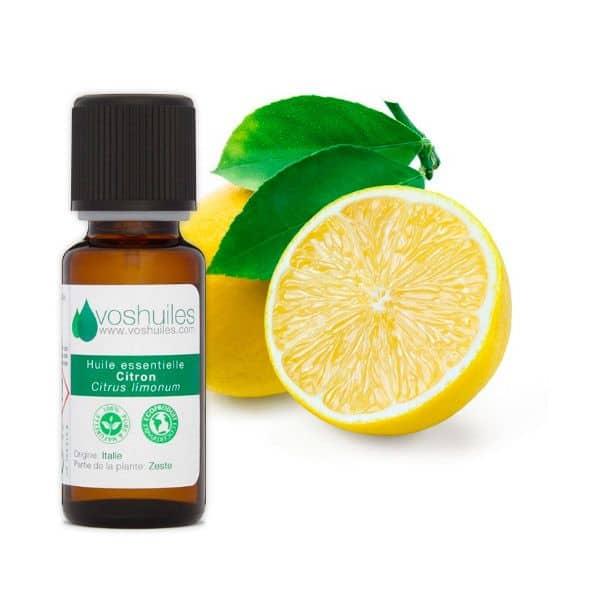 Huile essentielle de citron Vos Huiles