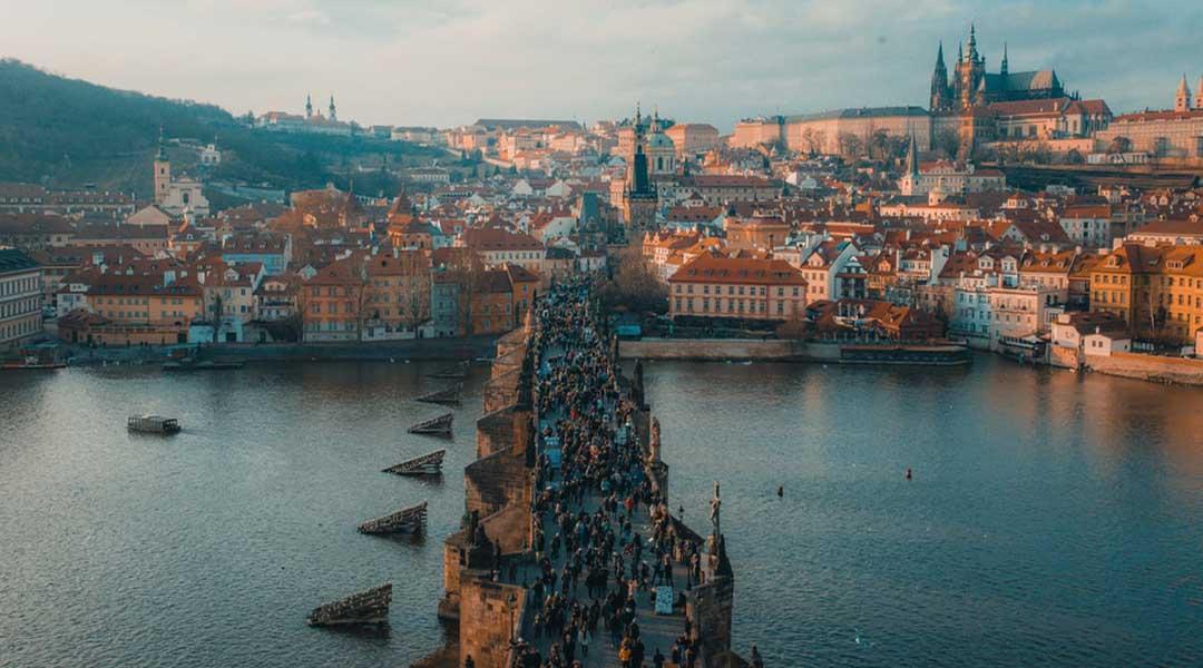 destinations européennes : Prague, en République Tchèque