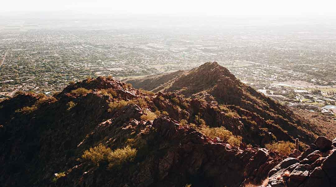 Phoenix ville la moins polluee