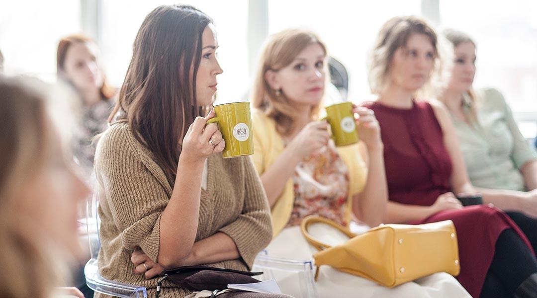 groupe de femmes en reunion