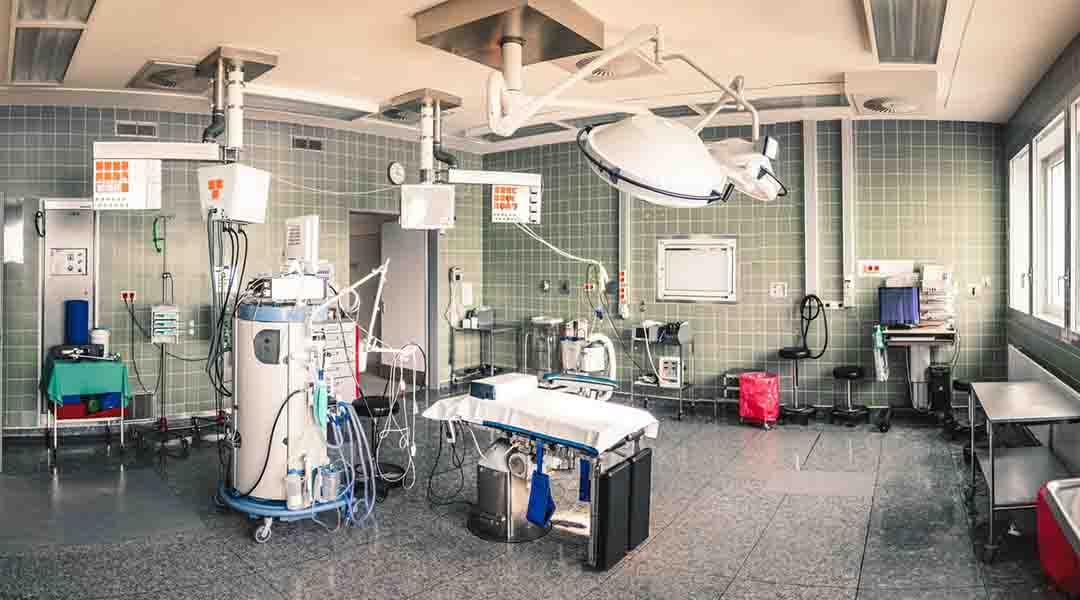 Chambre d'un hôpital psychiatrique