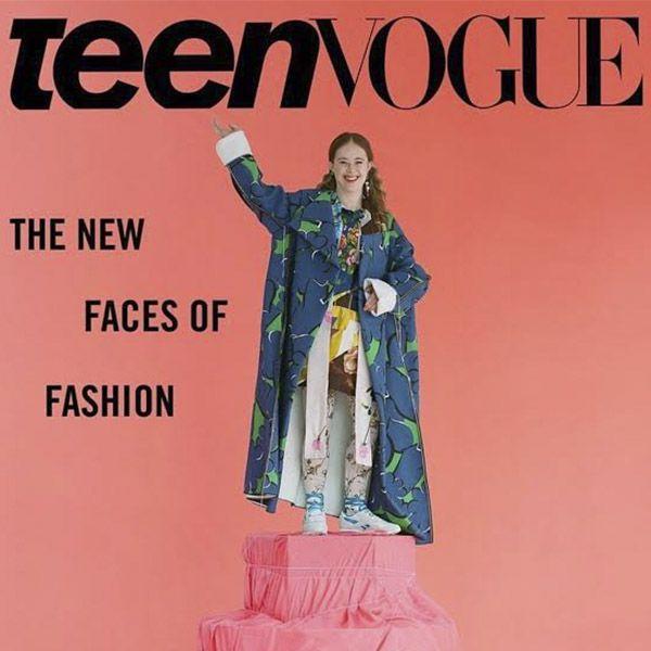 couverture pour Teen Vogue
