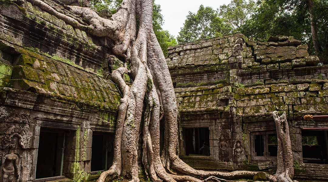 Ruines d'un temple cambodgien