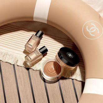 Les fluides enlumineurs Les beiges summer of glow de Chanel