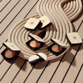 Les poudres illuminatrices Les beiges summer of glow de Chanel