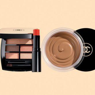 Palette yeux et baume à lèvres summer of glow de Chanel